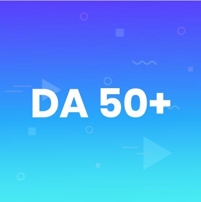 DA 50+