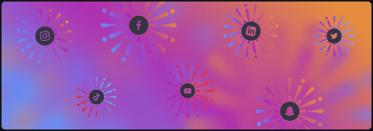 Social Media Icons - Play Media