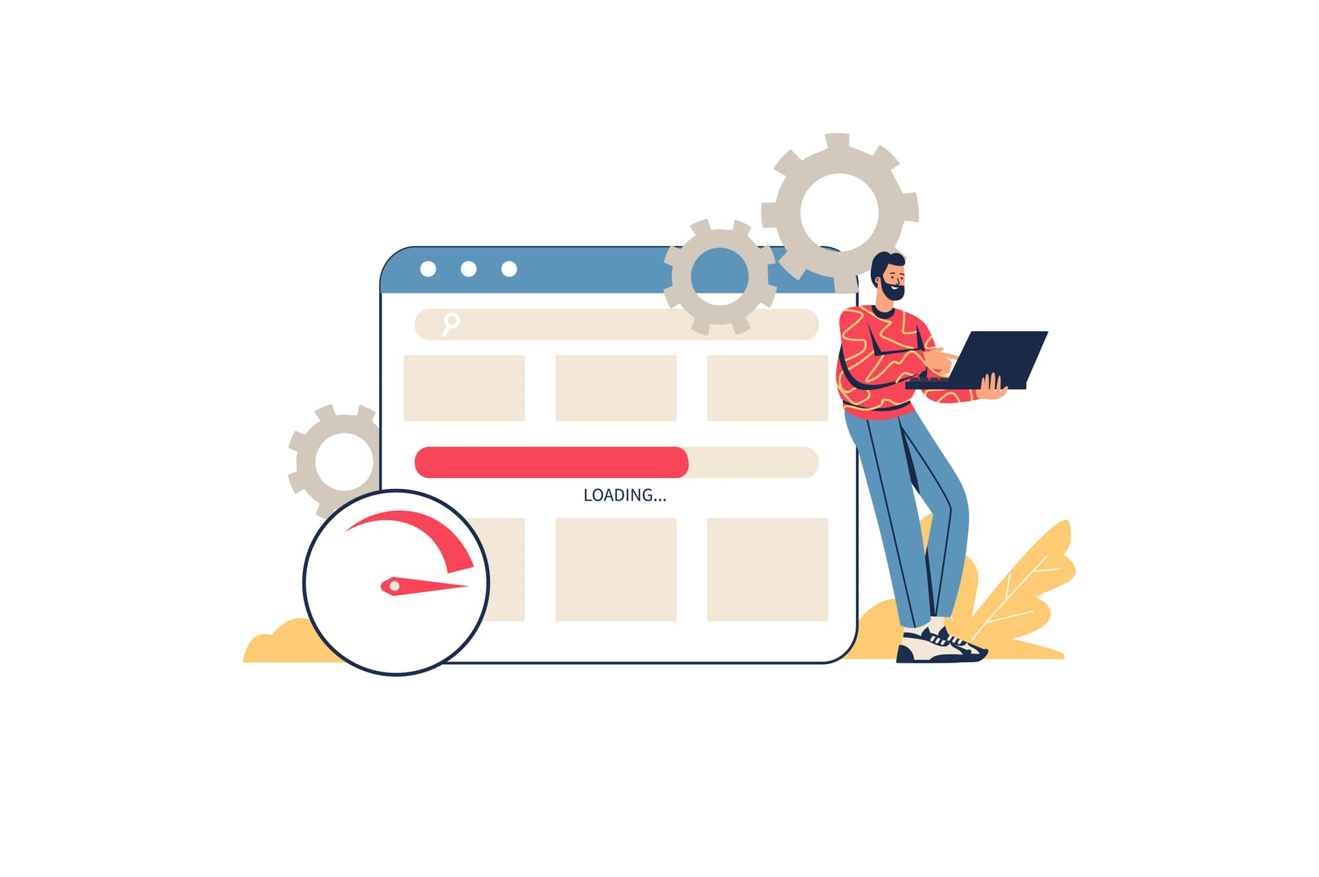 Optimize Website for the Page Experience.