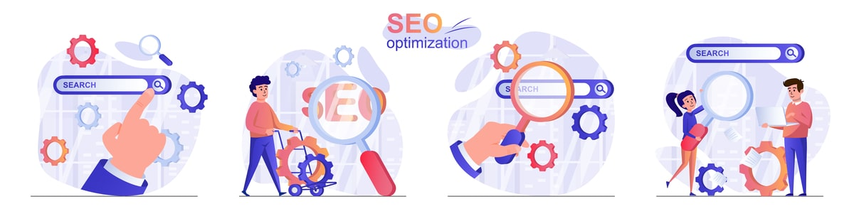 Optimize SERP step by step.